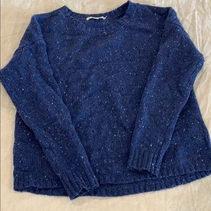 Beautiful royal blue knit sweater